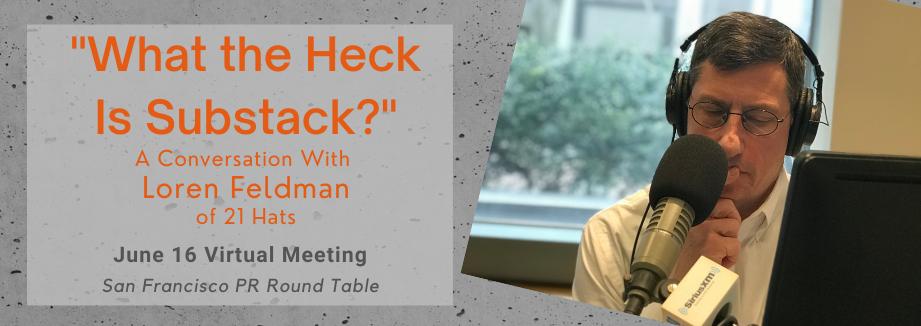 Loren Feldman June 16 virtual meeting